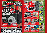 Media Markt flyer with new Tarkan SD card promotion