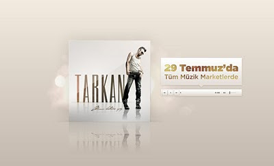 Screencap of Tarkan.com update