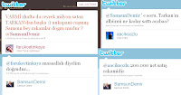 Screencap of Samsun Demir's tweets