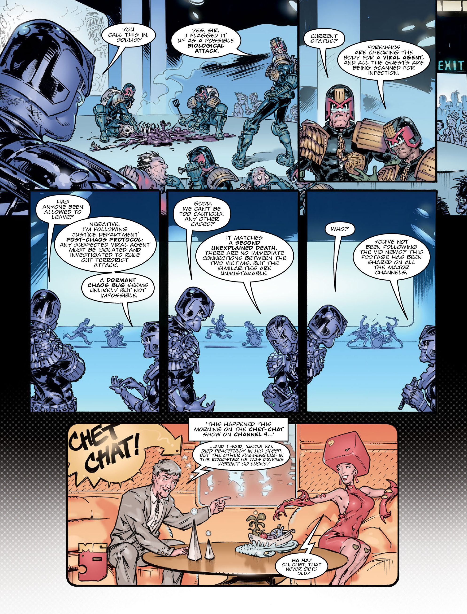 Read online 2000 AD comic -  Issue #2020 - 4