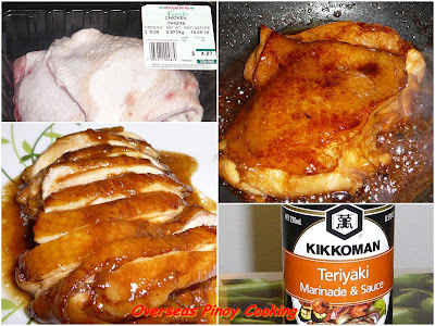 Chicken Teriyaki - Cooking Procedure