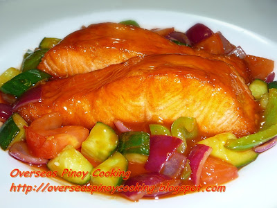 Sweet and Sour Tasmanian Salmon