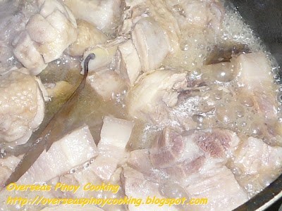 Adobong Puti - Cooking Procedure