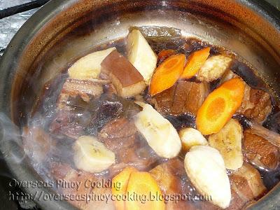 Pork Estofado - Cooking Procedure