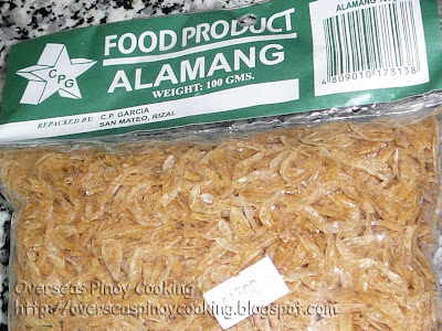 Alamang, Dried Krill