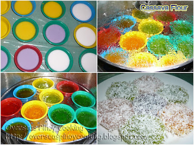 Pichi Pichi (Cassava Flour)- Cooking Procedure