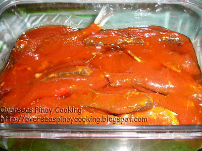 Fried Tawilis Sardines in Hot and Spicy Sauce - Cooking Procedure