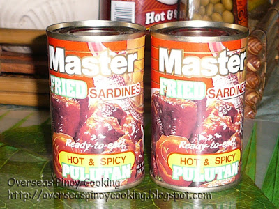 Master fried sardine in hot and spicy sauce