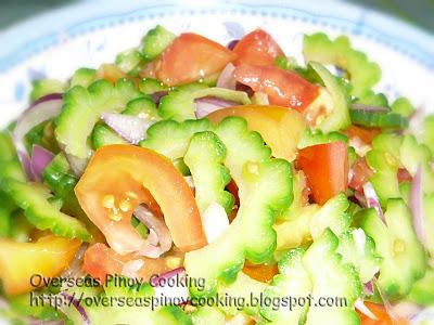 Ensadalang Ampalaya, Ampalaya Salad