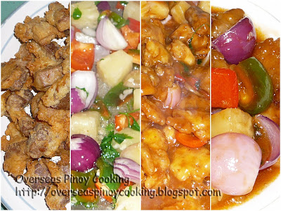 Sweet and Sour Pork and Chicken - Gallery