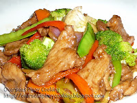 Pork and Vegetable Stirfry