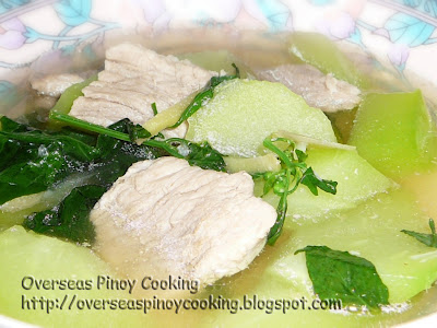 Pork Loin in Ginger Soup, Tinolang Lomo