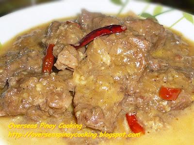 Kalderetang Batangas, Batangas Kaldereta Recipe