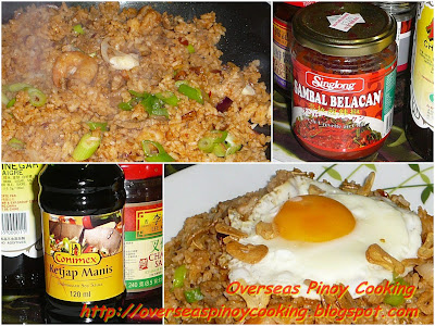 Nasi Goreng - Cooking Procedure
