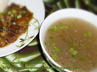 Beef Pares - Soup