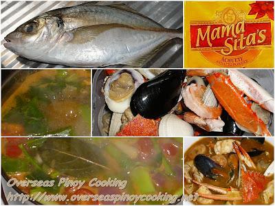 Seafood Bouillabaisse - Cooking Procedure