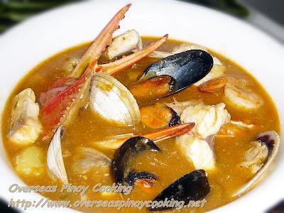 Seafood Bouillabaisse, Pinoy Style