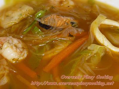 Seafood Sotanghon