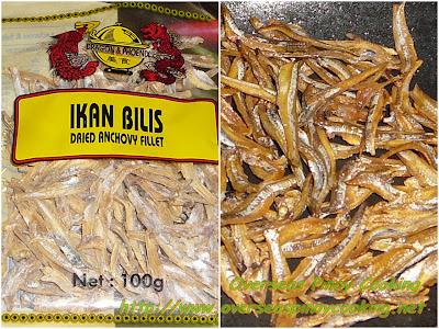 Dried Dilis, Ikan Bilis