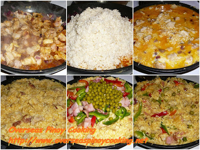 Lechon Arroz Paella Valenciana - Cooking Procedure B