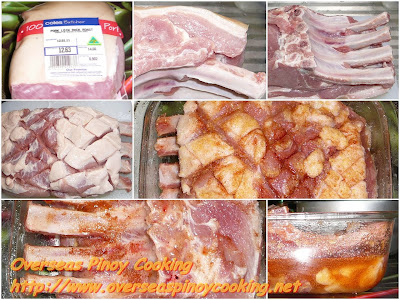 Pinoy Roast Pork - Ingredients