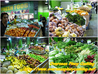 The Fruits and Vegetables Market