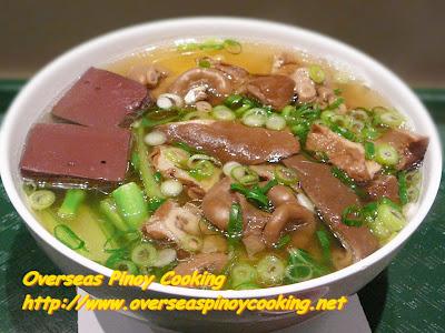 Pork Tripe Noodle Soup