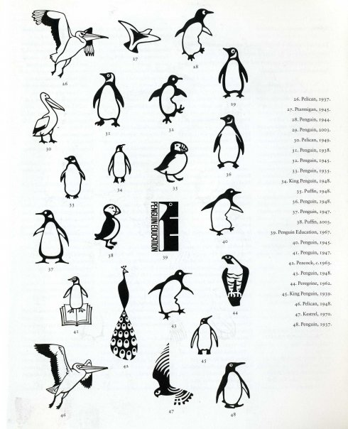 How May I Shush You Today?: Penguin Logo Evolution