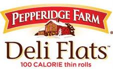 low calorie flat bread rolls,Pepperidge Farm Deli Flats review
