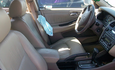 honda accord deployed airbag