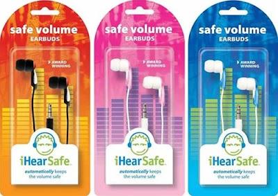 safe ear phones for kids, low decibel ear buds