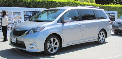 Toyota Sienna Calty Design Research event Laguna Beach