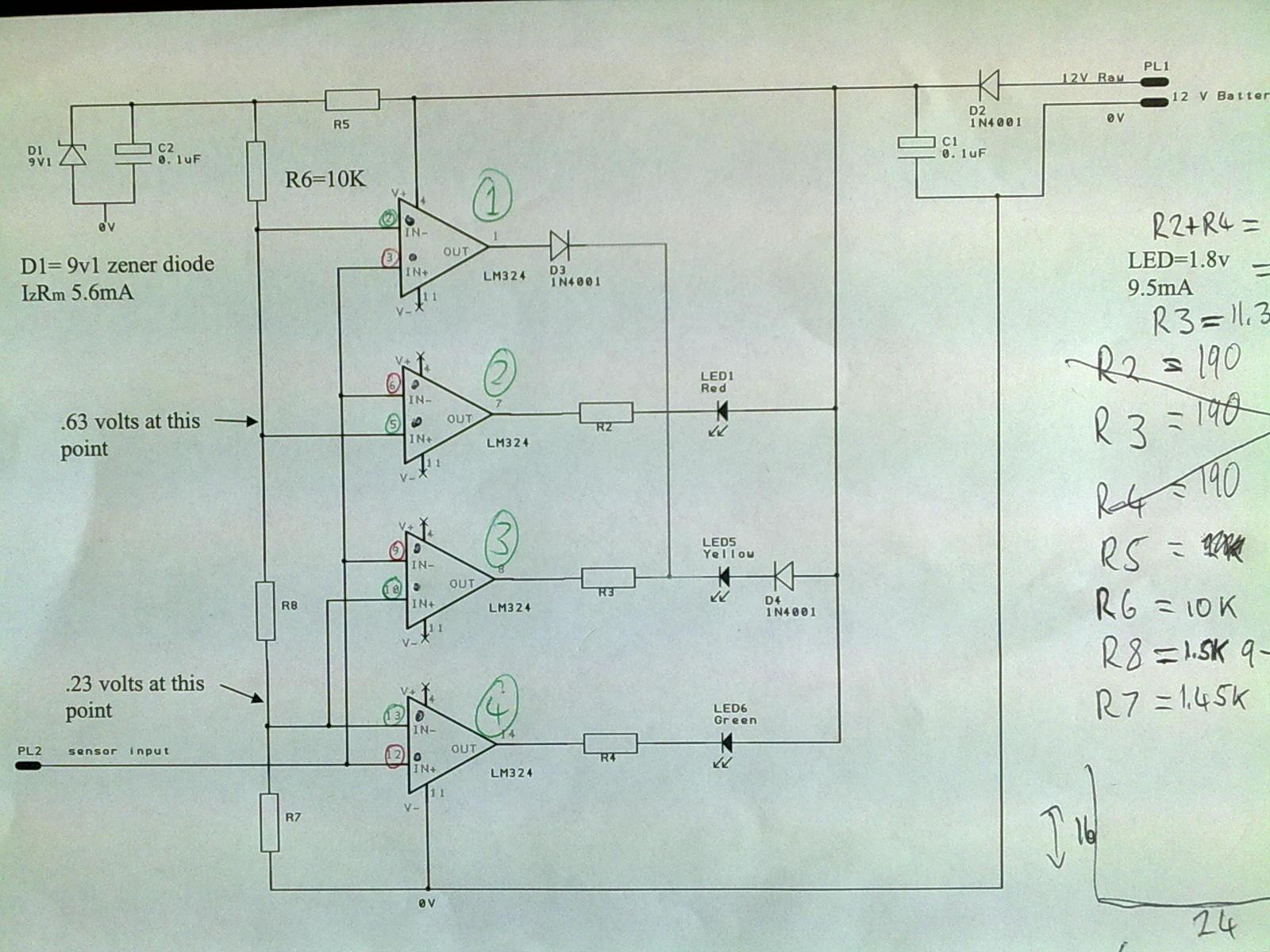 Sensor Amplification Circuit Diagram Sensorcircuit Circuit