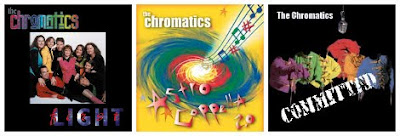 The Chromatics CD Covers