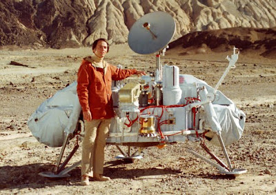 Carl Sagan and Viking Lander