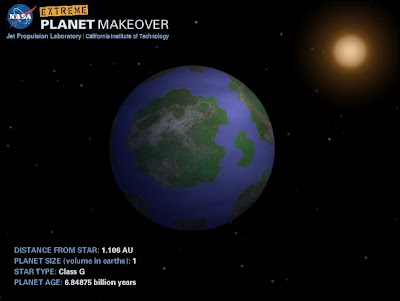Extreme Planet Makeover