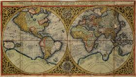 Sridhar World Map 16th Century