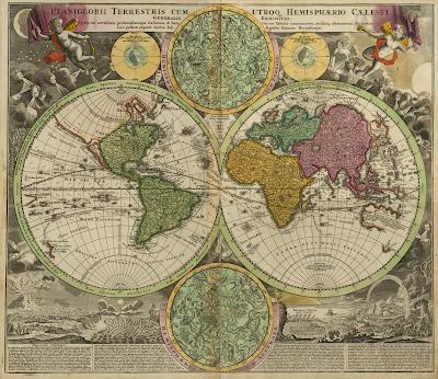Ancient World Maps: World Map 18th Century