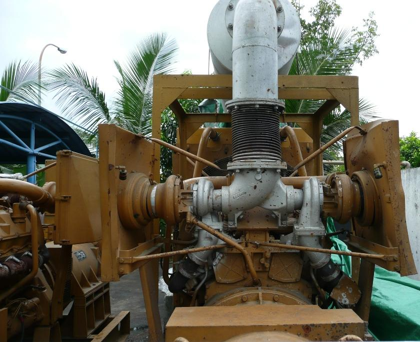 Sheng Weng Heavy Equipment & Parts Trading : Used Caterpillar 550kva