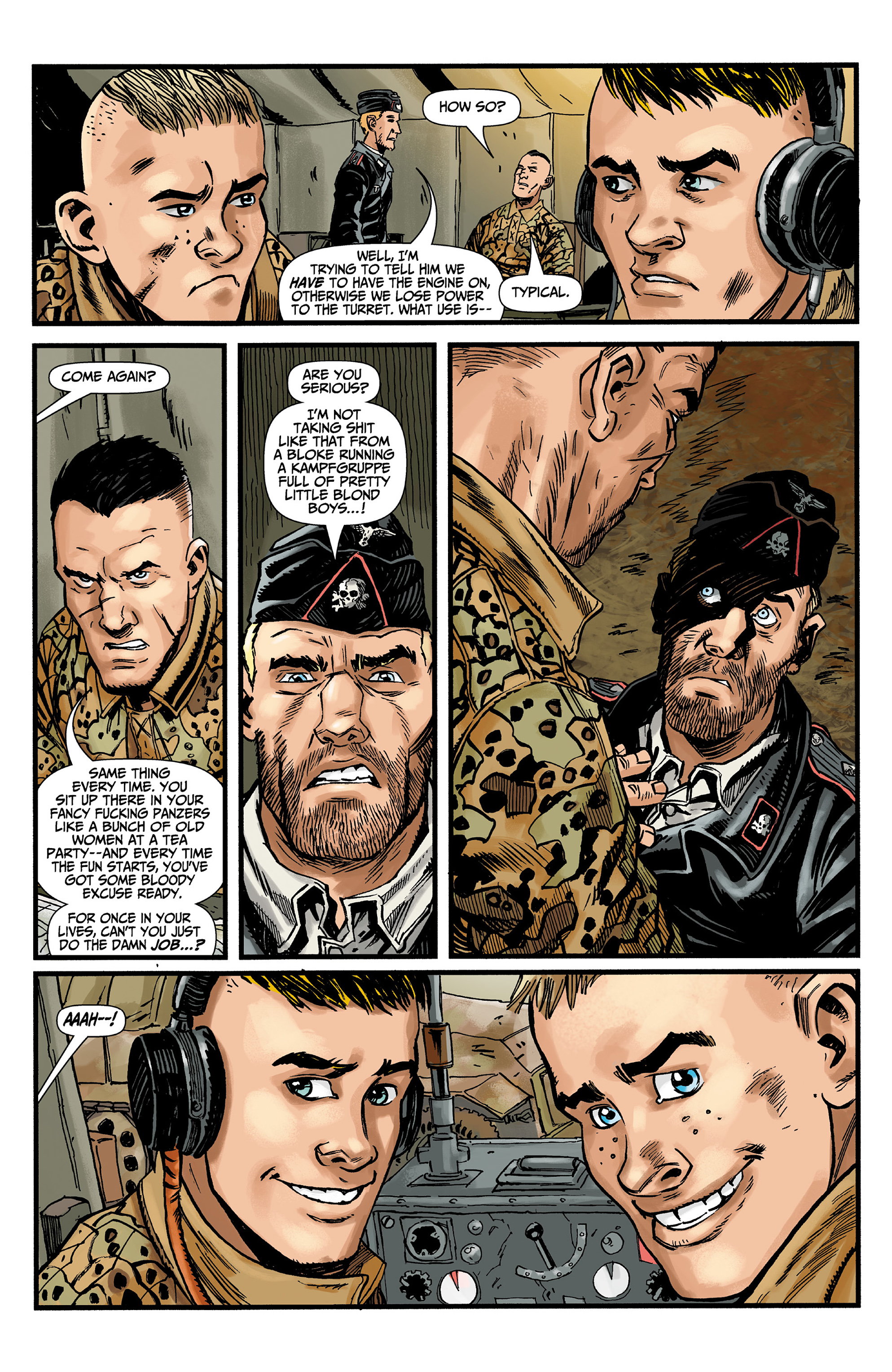 Read online World of Tanks comic -  Issue #3 - 8