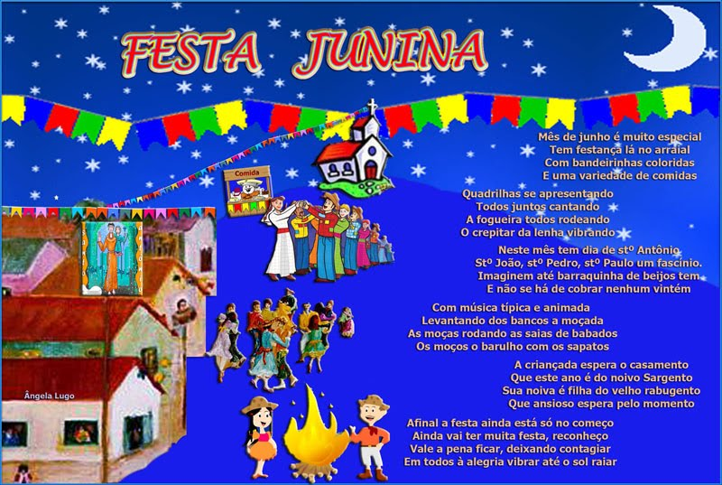 FESTA JUNINA (Poema infantil)