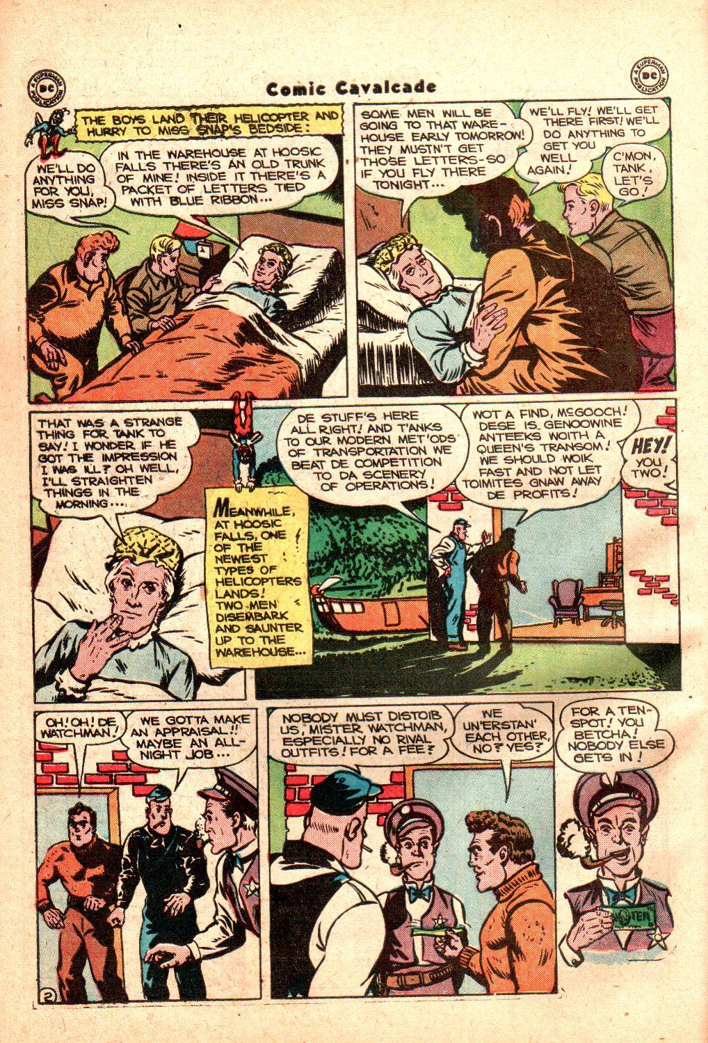 Comic Cavalcade issue 21 - Page 44