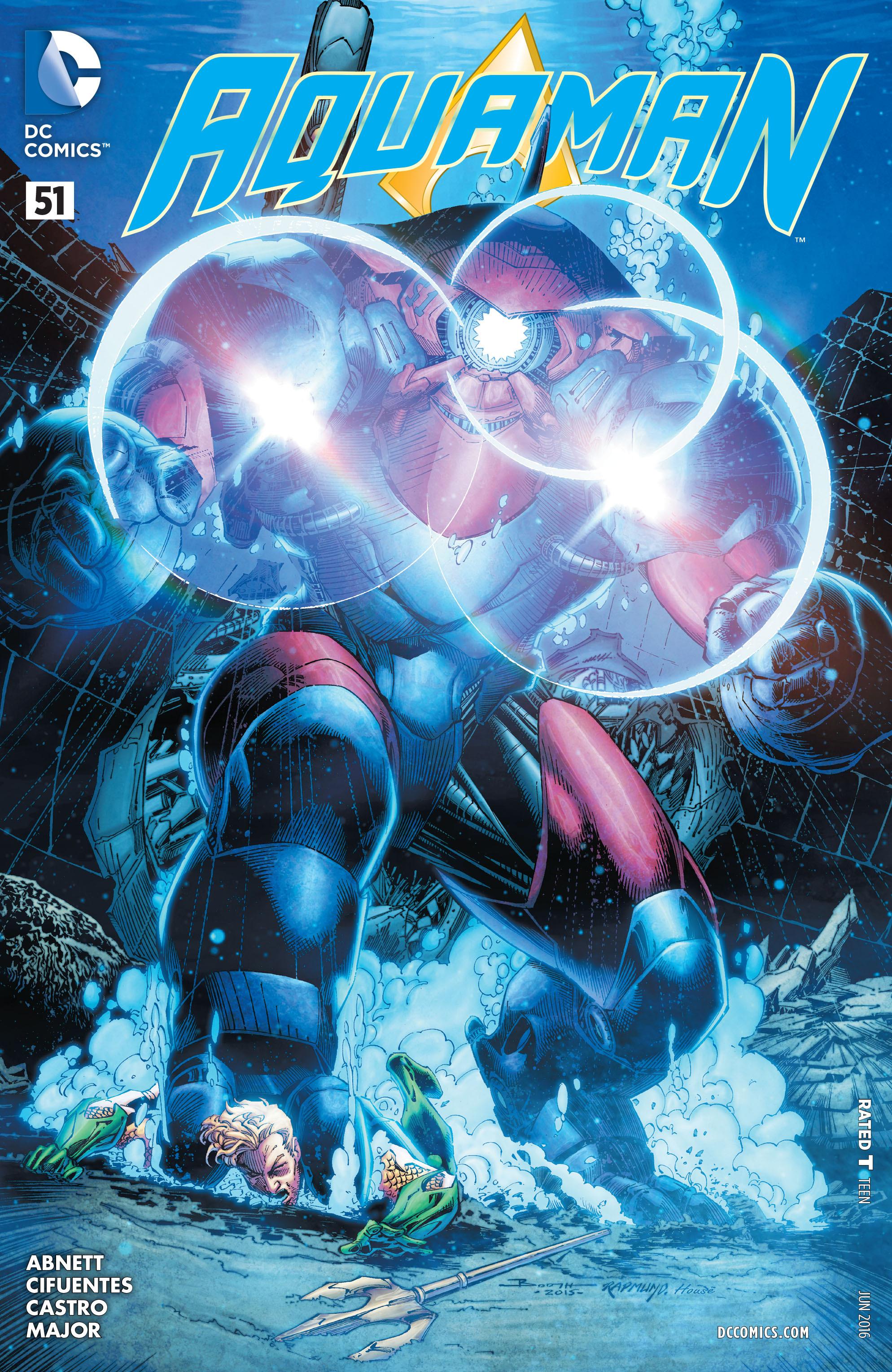 Read online Aquaman (2011) comic -  Issue #51 - 1