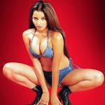 Hot Indian Babe Mona Lisa In Jeans Bikini