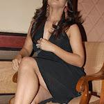 Neetu Chandra Hot In Black Gown