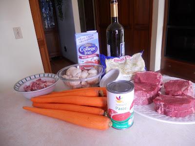 Filet of Beef Bourguignon
