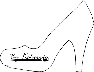 high heel template for cards - if the shoe fits snippets ink