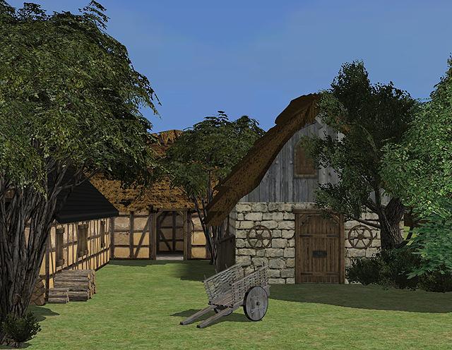 The Medieval Smithy SIMS 2 Medieval Farm