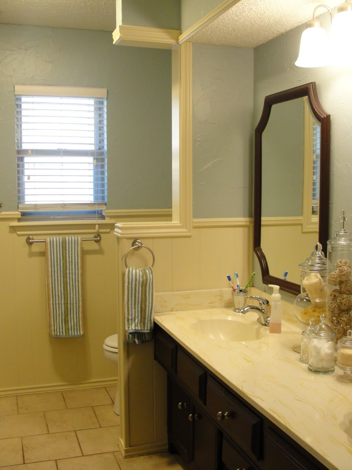 Small And Simple Things A Bathroom Transformation