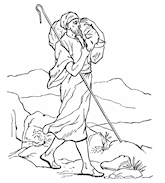Catholic Faith Education: Bible story coloring book